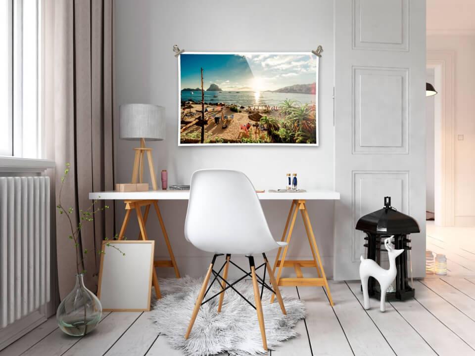 Fotoafdruk Glans - Interieur