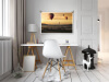 Fotoafdruk Velvet - interieur