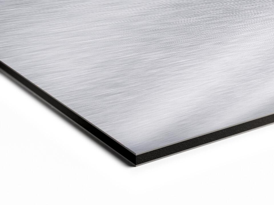 foto op geborsteld aluminium hoogwaardige en duurzame kwaliteit. Black Bedroom Furniture Sets. Home Design Ideas