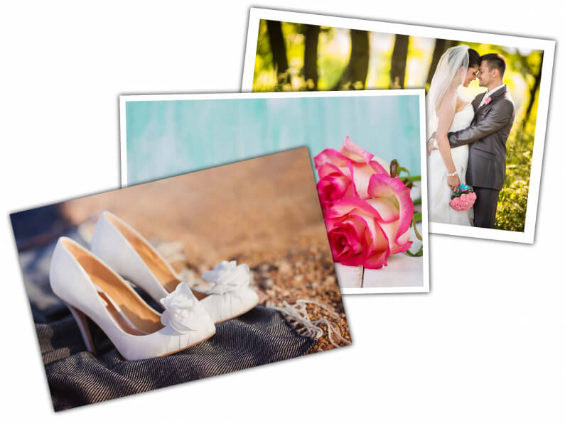 fotoprints zonder of met witte rand