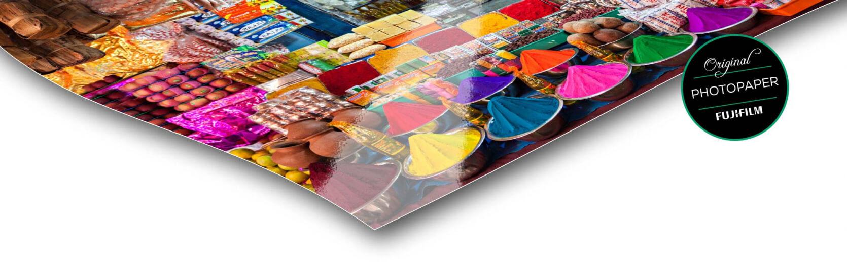 fotopapier foto op dibond glans