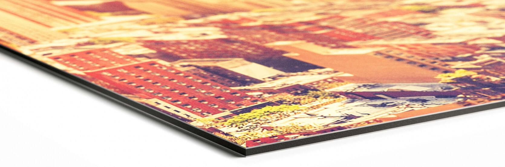 hoek foto op plexiglas anti reflex / mat