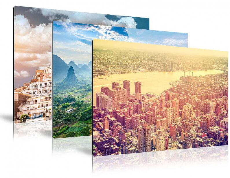 varianten foto op plexiglas