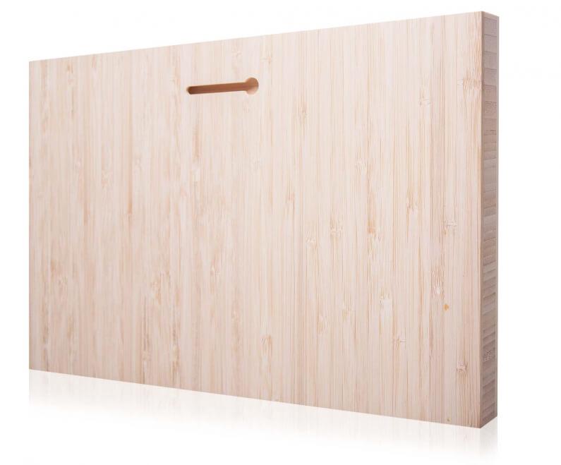 ophangsleuf foto op hout mat