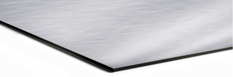foto op brushed aluminium dibond